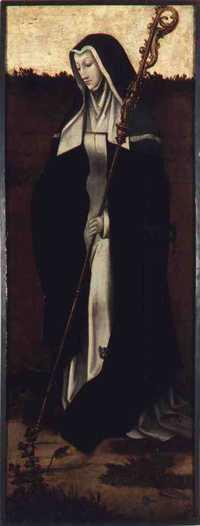 Heilige Gertrudis (Sint Geertruid)