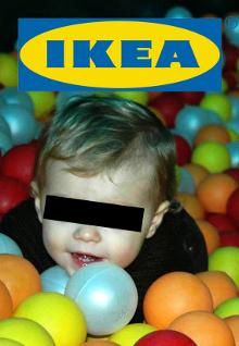 Ontvoerd uit het ballenbad bij IKEA