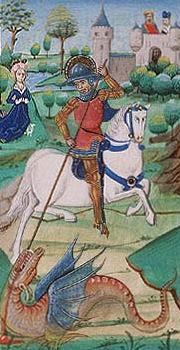 Het gedicht van Sint Joris en de draak